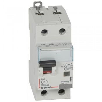 L411000 АВДТ DX3 1П+Н C10А 30MA-AC