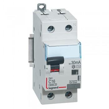 L411002 АВДТ DX3 1П+Н C16А 30MA-AC