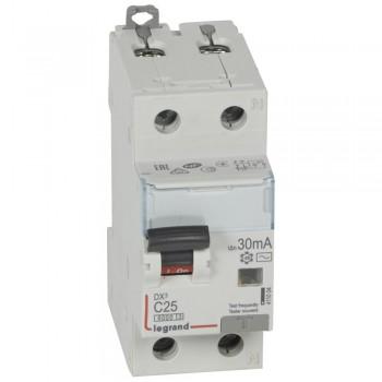 L411004 АВДТ DX3 1П+Н C25А 30MA-AC