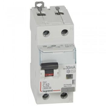 L411005 АВДТ DX3 1П+Н C32А 30MA-AC