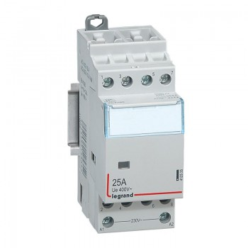 L412535 CX3 Контактор 230V 4НО 25А
