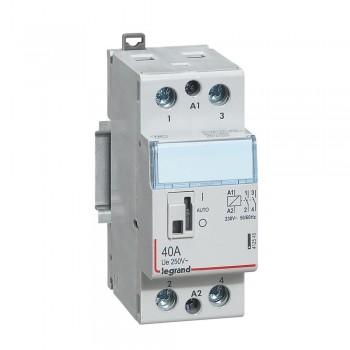 L412545 CX3 Кон.230V 2НО 40А с руч.уп.