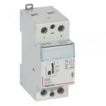 L412548 CX3 Кон.230V 2НЗ 63А с руч.уп.
