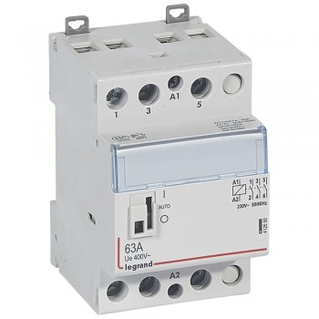 L412550 CX3 Кон.230V 3НО 63А с руч.уп.