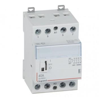 L412553 CX3 Кон.230V 4НО 40А с руч.уп.