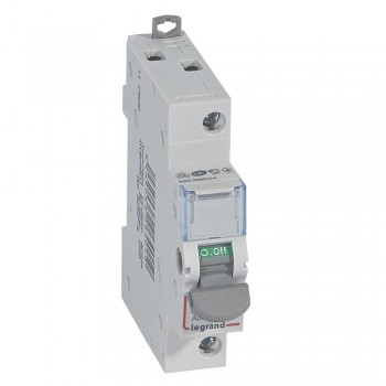L406401 Выкл.разъед.DX3 1П 20A