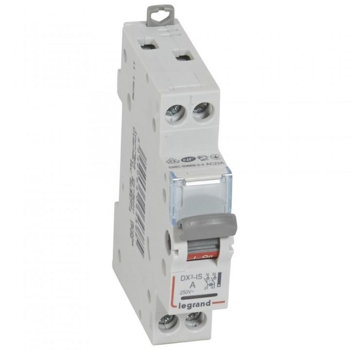 406436 L406436 Выкл.разъед.DX3 с индик.2П 20A Legrand
