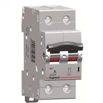 L419408 RX3 Выключатель-разъединитель 63А 2П