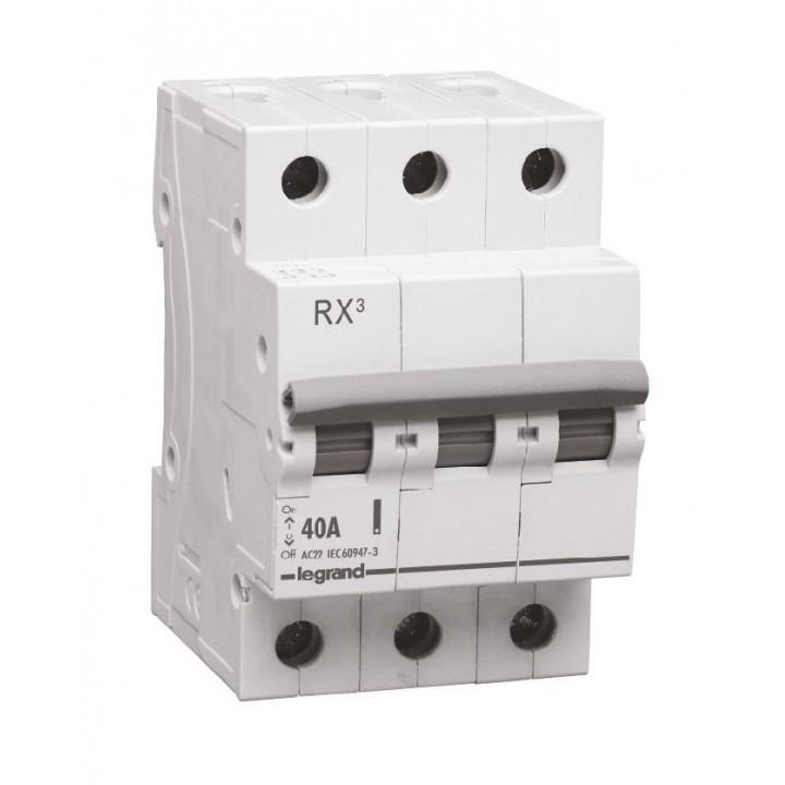 419412 L419412 RX3 Выключатель-разъединитель 40А 3П Legrand