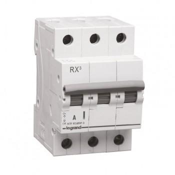 L419413 RX3 Выключатель-разъединитель 63А 3П