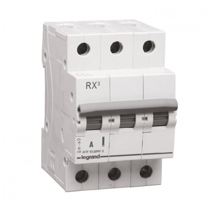 419414 L419414 RX3 Выключатель-разъединитель 80А 3П Legrand