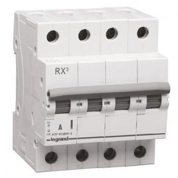 L419418 RX3 Выключатель-разъединитель 63А 4П