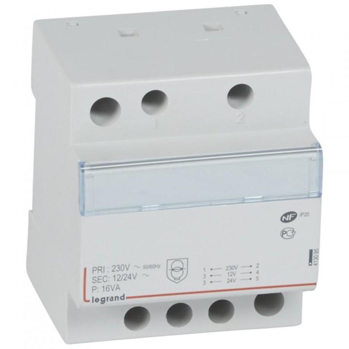 413095 L413095 CX3Трансформатор безоп-ти 230В/12-24В 16Ватт Legrand