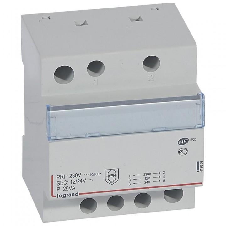 413096 L413096 CX3Трансформатор безоп-ти 230В/12-24В 25Ватт Legrand