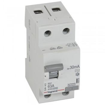 L402026 RX3 ВДТ 30мА 63А 2П AC