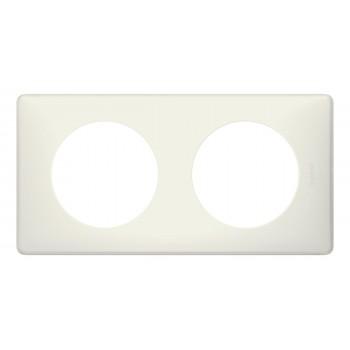 Рамка 2-я, белая перкаль, универсальная Celiane