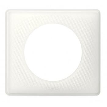 Рамка 1-я, белый муар, универсальная Celiane