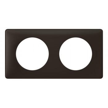 Рамка 2-я, черная перкаль, универсальная Celiane