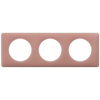 "Celiane. Рамка 3-постовая. Цвет ""Перкаль розе"""