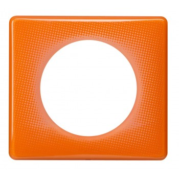 Рамка 1-я, оранжевый муар, универсальная Celiane