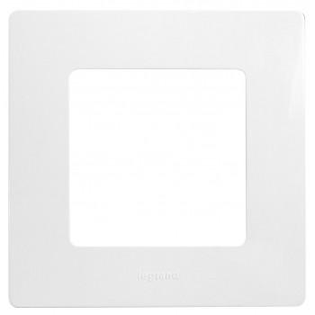 Рамка 1-я, белый, универсальная Etika