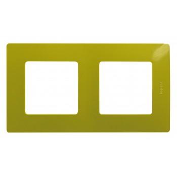 Рамка 2-я, зеленый папоротник, универсальная Etika