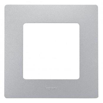Рамка 1-я, алюминий, универсальная Etika