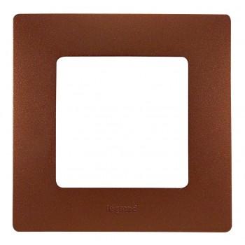 Рамка 1-я, какао, универсальная Etika
