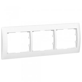 Рамка 3-я, белый, горизонтальная Galea Life
