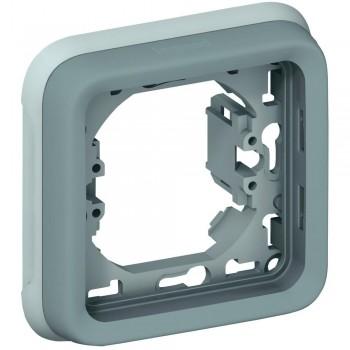 Рамка 1-я, серый, универсальная, серый Plexo