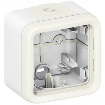 Коробка 1-я, белый, горизонтальная, белый Plexo