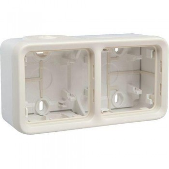 Коробка 2-я, белый, горизонтальная, белый Plexo