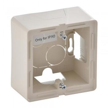 Коробка 1-я без рамки, слоновая кость Valena Life