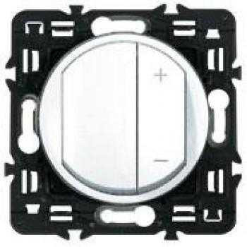 Светорегулятор клавишный 600Вт, белый
