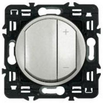 Светорегулятор клавишный 600Вт, титан