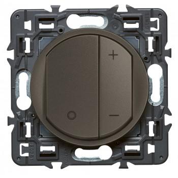 Светорегулятор клавишный 600Вт, графит