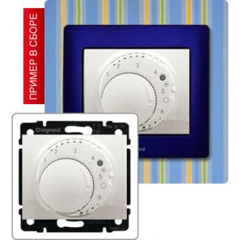 Термостат с выносным датчиком температуры, белый