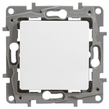 Выключатель 1-но клавишный с 3-х мест (перекрестный выключатель), белый
