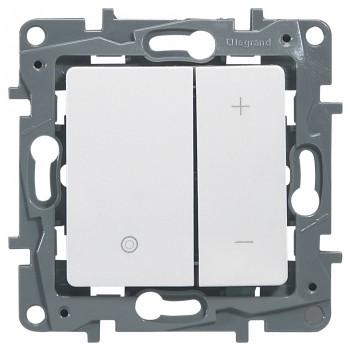 Светорегулятор клавишный 400Вт, белый