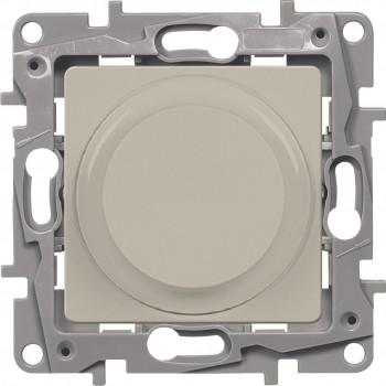 Светорегулятор поворотный 300Вт, слоновая кость