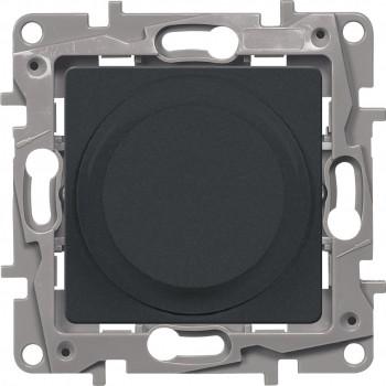 Светорегулятор поворотный 300Вт, антрацит
