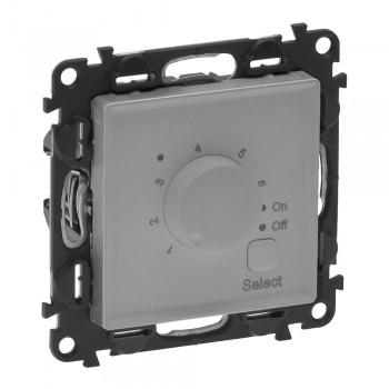 Термостат для теплого пола с датчиком температуры, алюминий