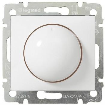 Светорегулятор поворотный 400Вт, белый