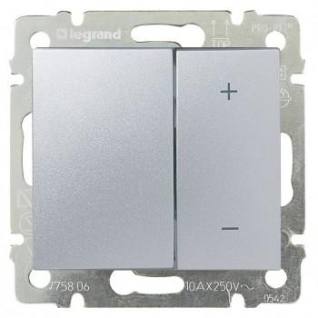 Светорегулятор клавишный 600Вт, алюминий