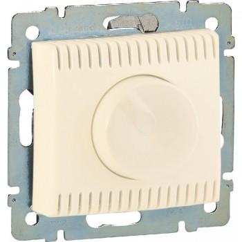 Светорегулятор поворотный 100-1000Вт, слоновая кость