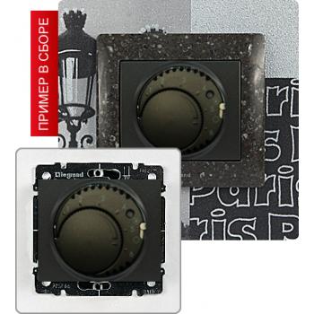 Термостат с выносным датчиком температуры, темная бронза