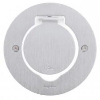 L089701 Встр. блок IP44 круг.нерж.2м